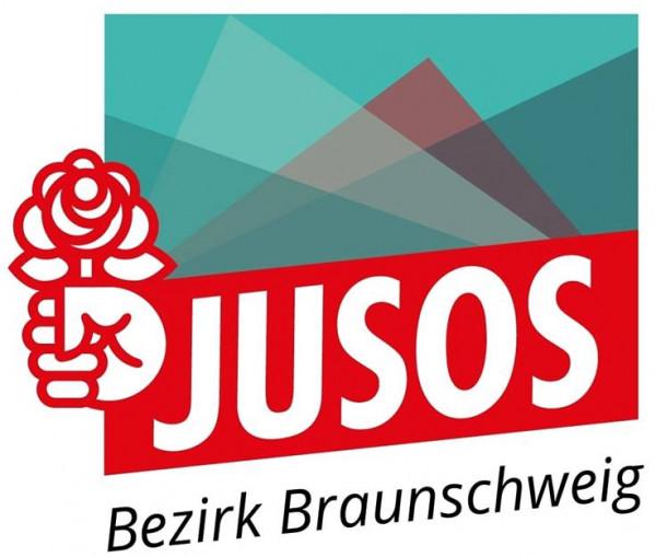Logo: Jusos Bezirk Braunschweig